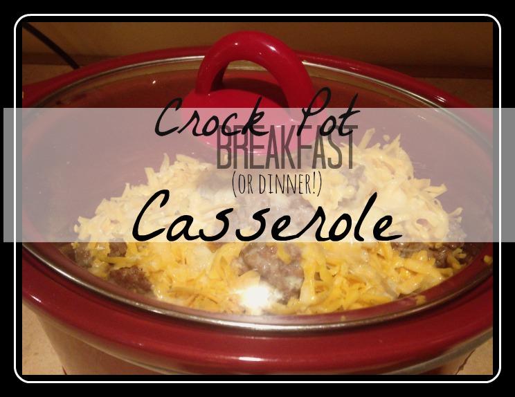 Crock Pot BreakfastCasserole