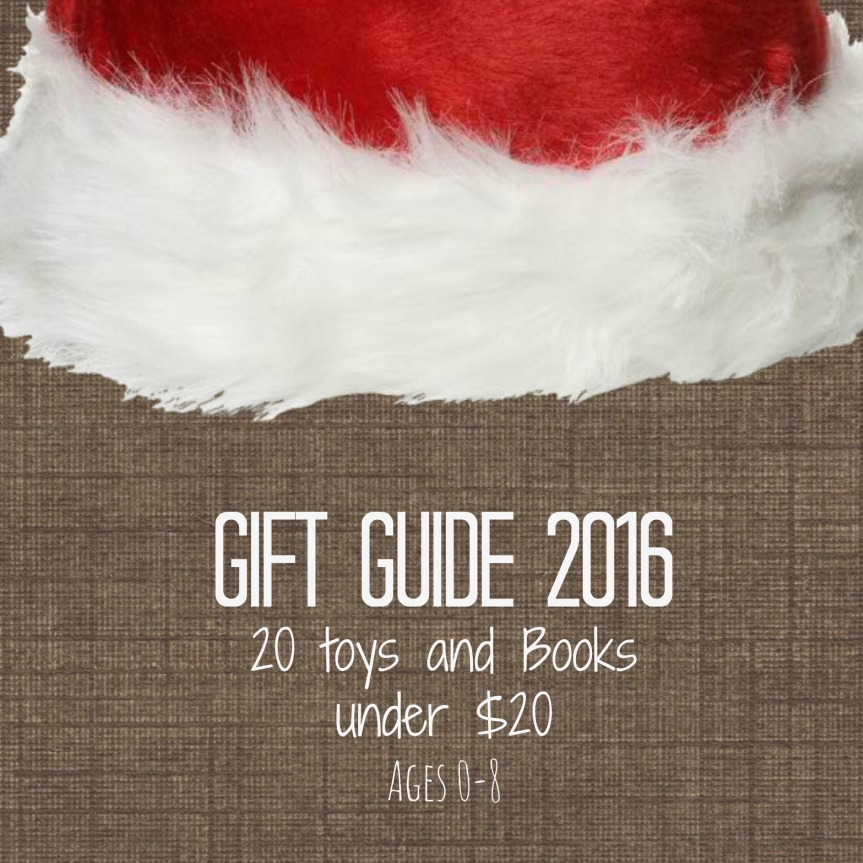 Gift Guide 2016: 20 Toys and Books Under$20