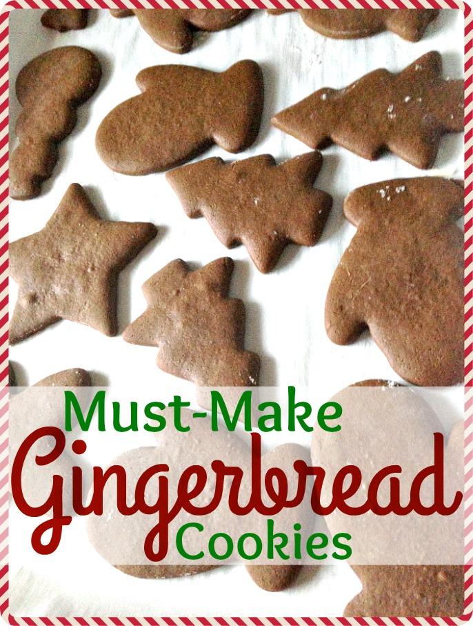 Must-Make Gingerbread Cookies