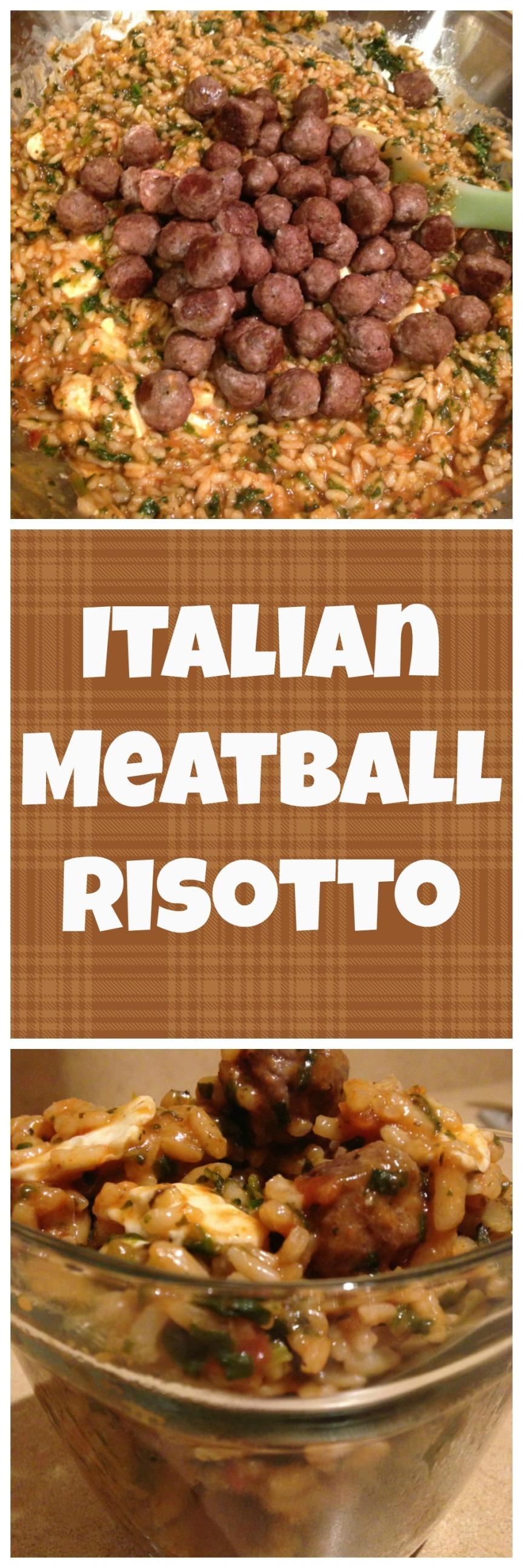 Italian Meatball Risotto
